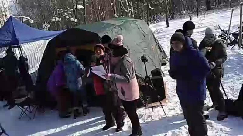 Снежные дюны: награждение Дети