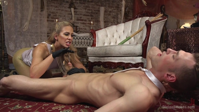 DIVINE BITCHES CHERIE DEVILLE  госпожа, бдсм, страпон секс, kink, dib, strapon, femdom, раб, фистинг, fisting, куни