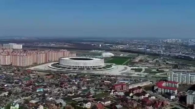 Фото kot up Краснодар ждёт Величайшее шоу на земле 100 дней до Старта ЧМ2018 ✌🏼😺⚽🏟