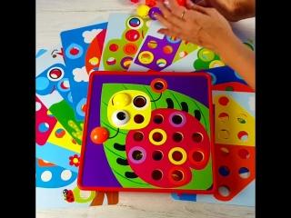 Очень крупная мозаика для малышей