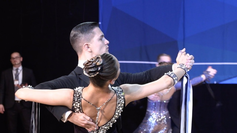 Maxim Karanov Daria Egorushkina RUS Tango WDSF International Open Standard