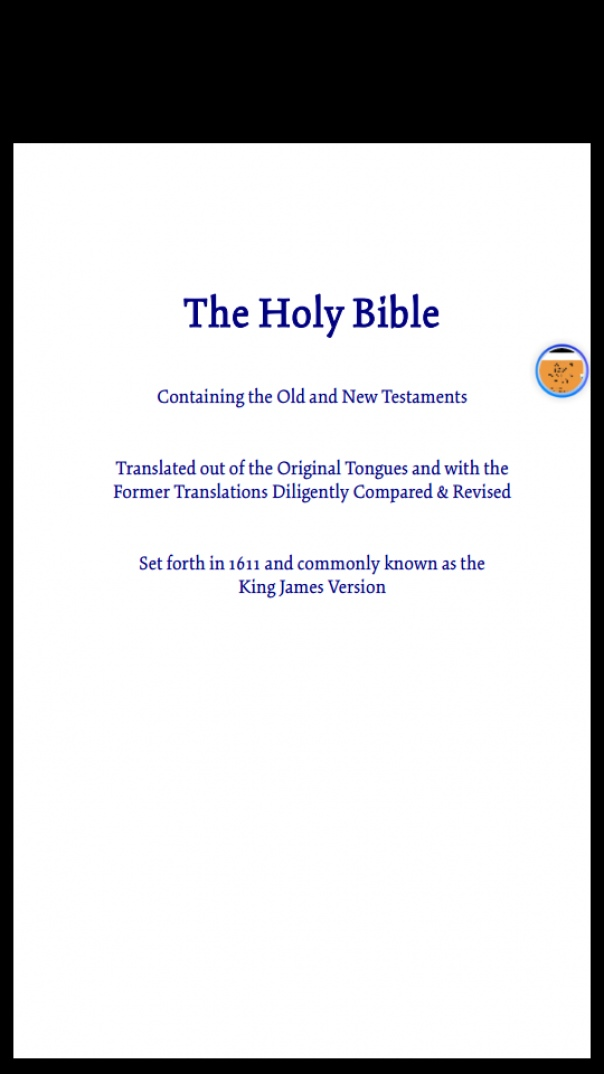 Bible King James Version