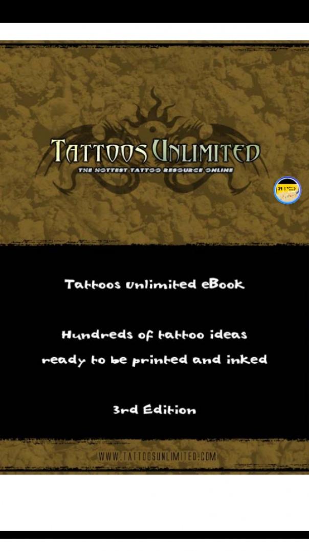 Tattoos Unlimited Ebook