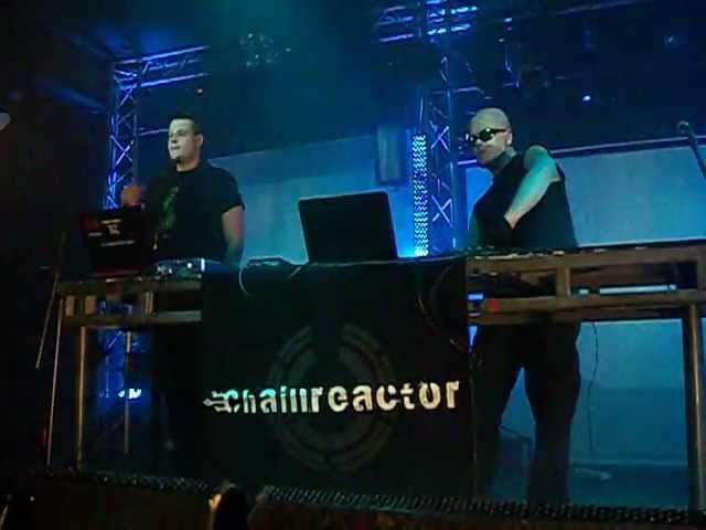 Chainreactor - Gasoline (live @ Resistanz Festival 2013) (29-31 March 2013
