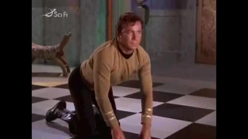 Звездный Путь | Star Trek (TV Series 1966–1969) Самая Поехавшая Сцена в TOS