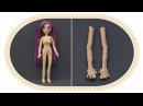 Кукла крючком Виолетта , часть 1 Руки. Crochet doll Violetta, part 1 Hands