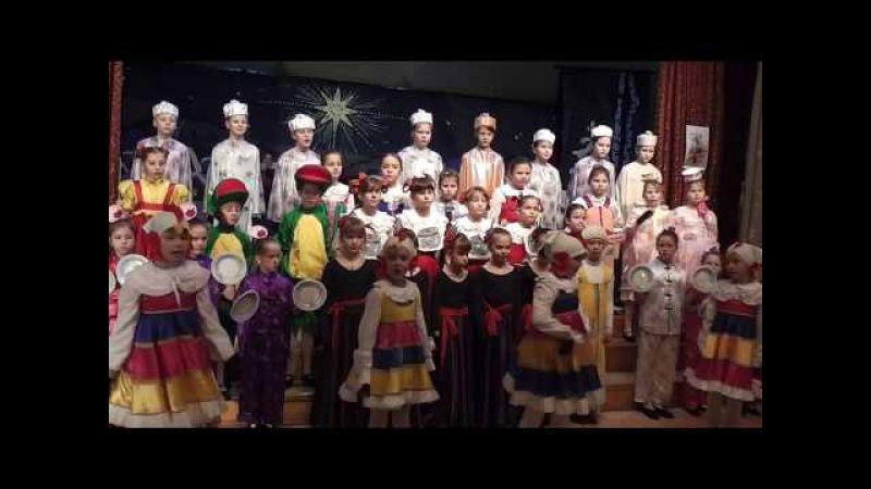 Опера Федорино горе хоры ДЦМШ Красногорск Рождественский концерт 2015 г