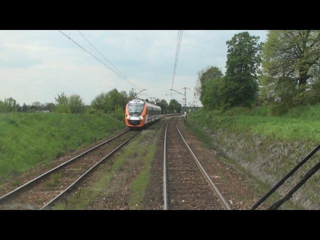 Cabview ED72 010 Kraków Główny Trzebinia sound 20 05 2016