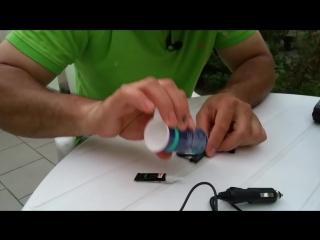 Как намертво склеить пластик, железо, стекло и прочие материалы секретный способ.mp4