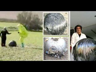 Bizarre Orb Devices Fall From the Sky in Turkey and Spain, Military Immediately Takes Over