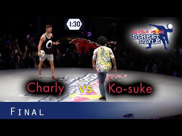 Perfect Skills | Charly Iacono v Ko-suke | Red Bull Street Style 2016 - Final