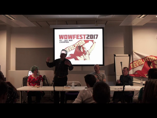 Revolution! with John Rees, China Miéville and Kate Evans @WoWFest 2017