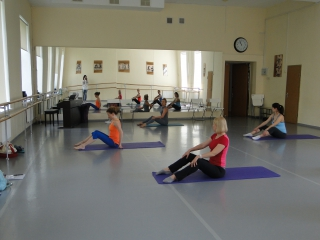 Семинар по обучению тренеров по пилатесу Pilates Matwork I уровень.