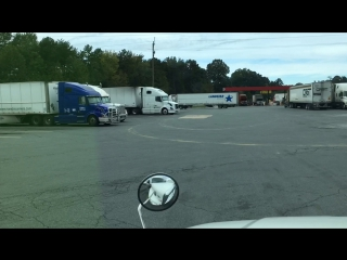 At the truck stop