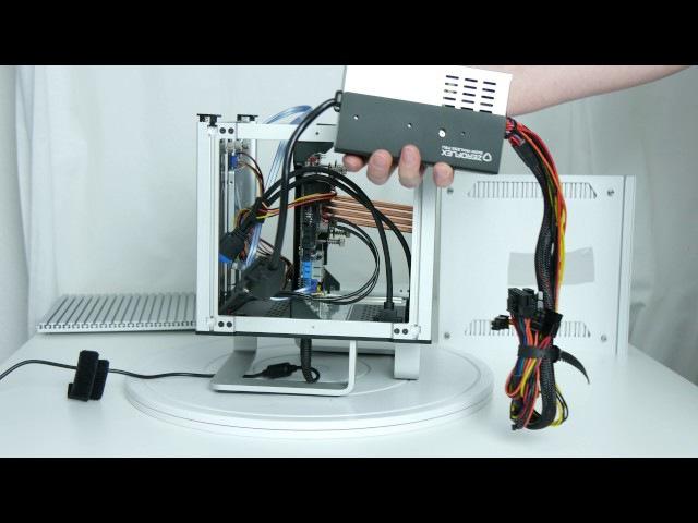 Ausgepackt angefasst 4K Streacom DB4 ein lüfterloses Mini ITX Gehäuse