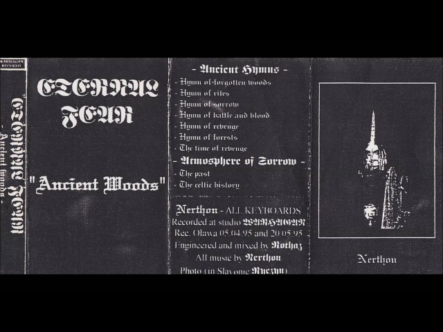 Eternal Fear Ancient Woods 1995 Old School Dungeon Synth