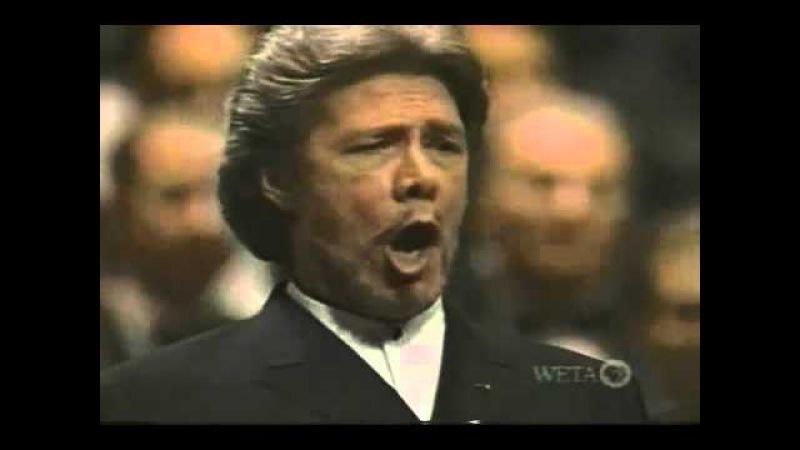 Ramey Hvorostovsky Il la tromba intrepido Gala Tucker '99