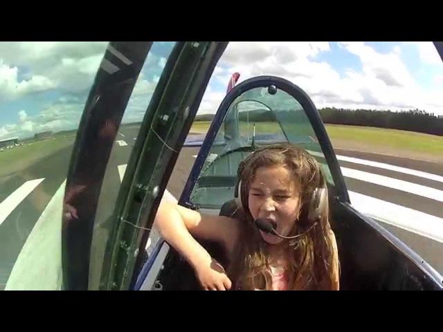 Irene's Awesome Yak 52 Flight