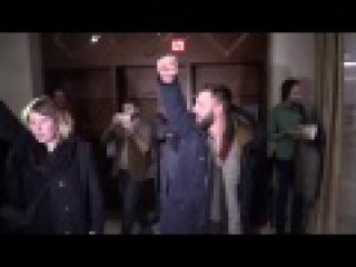 В Минске, Нацболы, на пресс-конференции спрец.преда ОБСЕ , ОБВИНИЛИ  О.Б.С.Е. в бездействие и потворстве Киевской хунте.