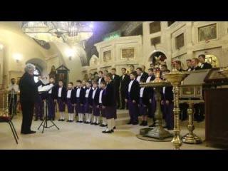 Владимирская капелла мальчиков и  юношей - Отче наш (А. Шнитке)