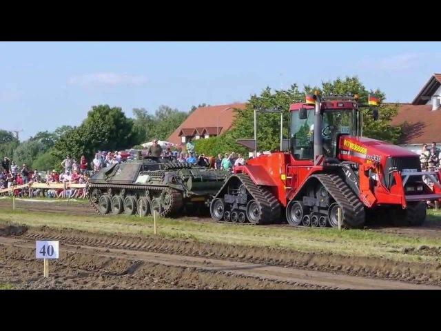 Танк против Трактора. Кто кого?   Tank vs Tractor. Who will win?
