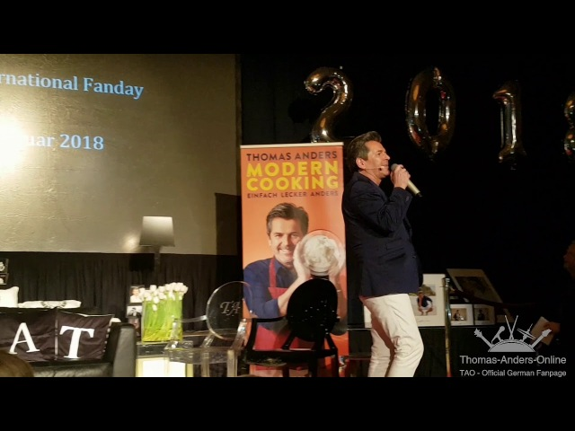 Thomas Anders - STRANGERS IN THE NIGHT - 27. Int. Fanday