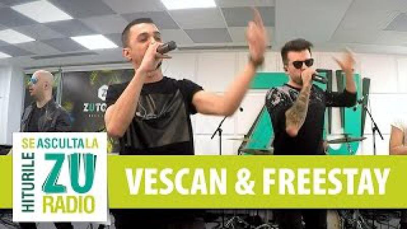 Vescan si FreeStay Hall of Fame The Script Live la Radio ZU
