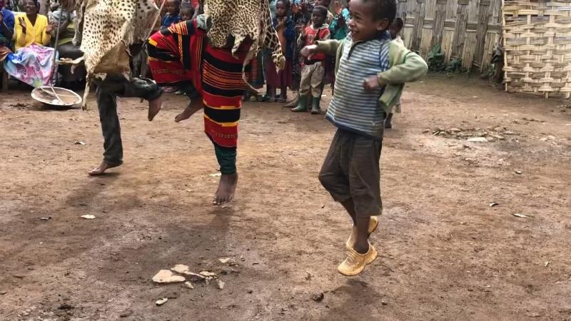 племя Зорде в Эфиопии
