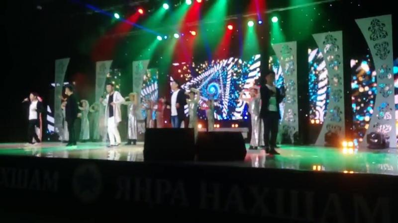 Любительское видео с концерта Янра Нахшам 5