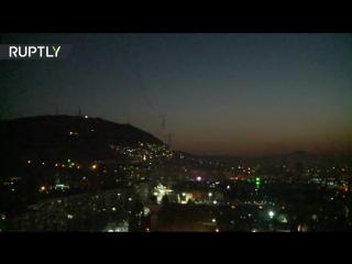 ✔ ОСОБОЕ МНЕНИЕ: Работа систем ПВО над Дамаском после ударов США по Сирии ...