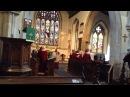 Church Choir in a beautiful old Anglican church