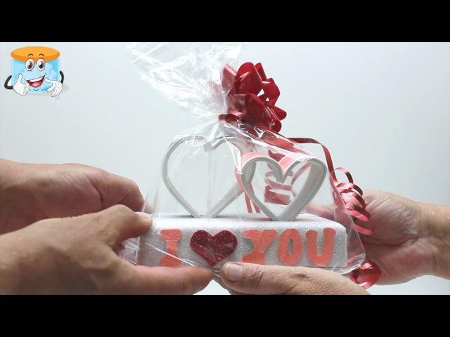 Два Любящих Сердца   Подарок Своими Руками   Поделки Самоделки