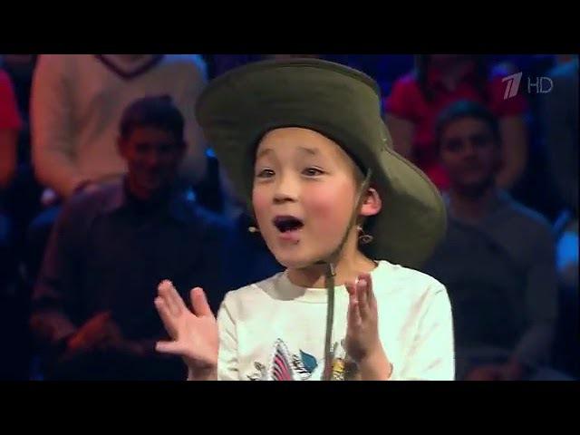 Албан-али из Каракола принял участие в детском шоу «Лучше всех» на Первом канале