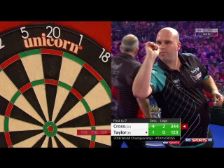 Phil Taylor vs Rob Cross (PDC World Darts Championship 2018 / Final)