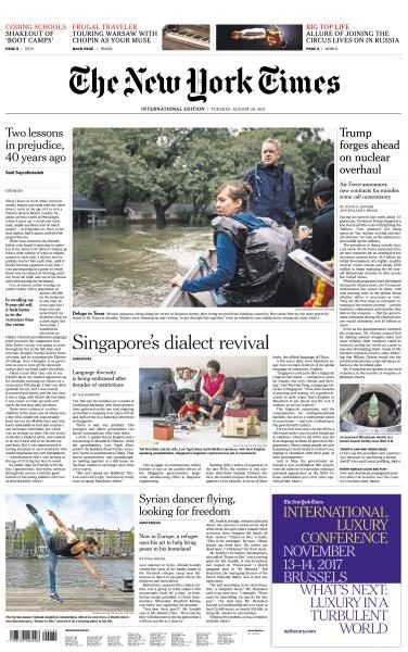 International New York Times 29 August 2017 FreeMags