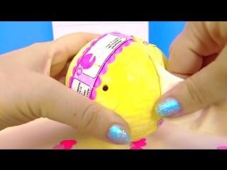 LOL SURPRISE #КУКЛЫ ЛОЛ 3 СЕРИИ CONFETTI POP НОВИНКА! Видео для Детей - My Toys Pink #ad