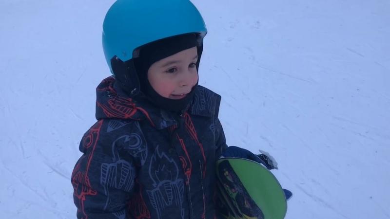 Арсений 6 лет подъёмник