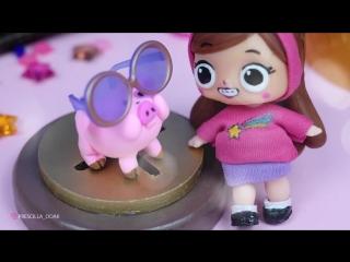 MABEL GRAVITY FALLS - LOL Surprise Custom Doll DIY - LOL Dolls Videos - LOL Unboxing