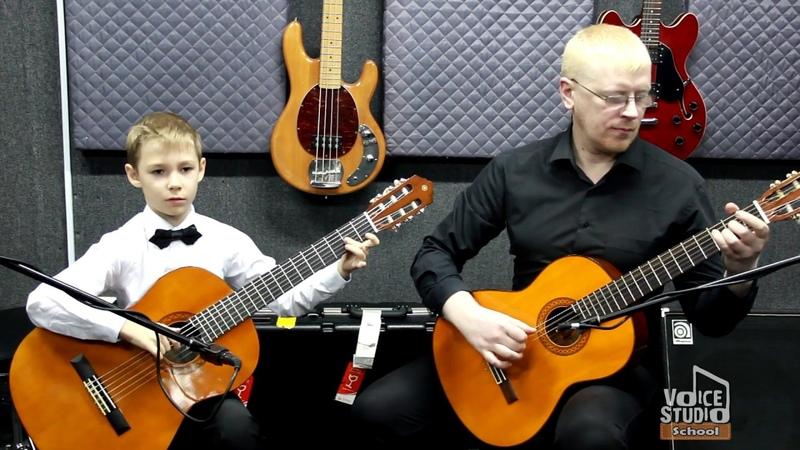 Рома Краев (9 лет) - преподаватель Павел Алпеев. Voice-Studio School