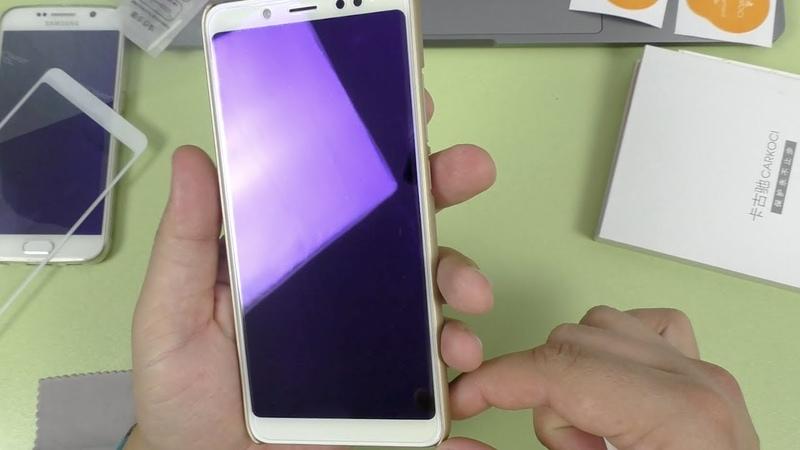Защитное стекло Carkoci KUPISHIK для Xiaomi Redmi Note 5 ► то что нужно