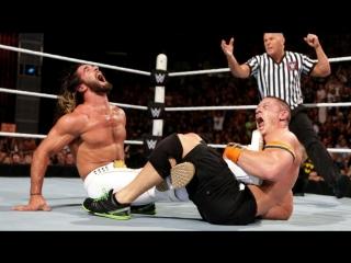 (WWE Mania) SummerSlam 2015 John Cena(c) vs. Seth Rollins(c) - Winner Takes All Match