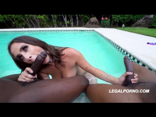 You asked for it!! Ashley Adams 1st DP with 2 BBC with a double creampie Legal Porno