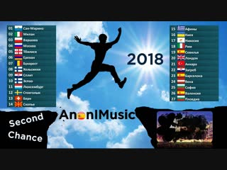 Anonimusic second chance 2018 (spain)