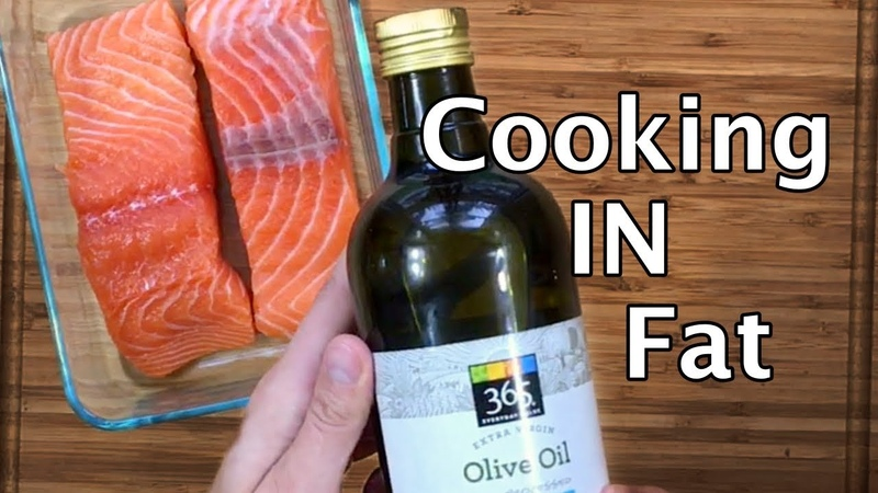 Salmon Confit | Use any FAT you want