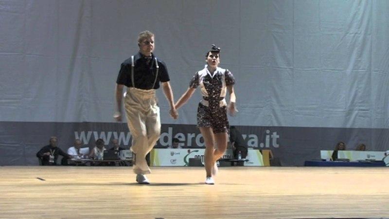 Markus Kakuska Jessica Kaiser - KO Runde World Cup Rimini 2012