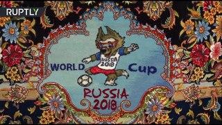 ФИФА в восточном стиле: иранский дизайнер соткал ковры с символикой ЧМ и собором Василия Блаженного