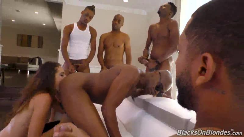 Avi Love Blacks On Blondes Dog Fart Network. HD1080, Anal, Big Black Cock, Brunette, Group Sex,