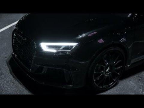 BLACK RONIN TIME ATTACK AUDI RS3 660HP MG PREMIUM X GO HARDER