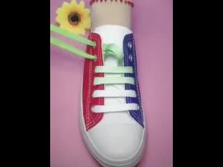 Отличные идеи шнуровки обуви