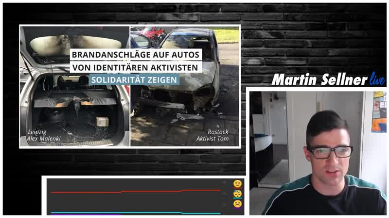 Martin Sellner Alles zu Halle - BVT Verhör bei OE24 -